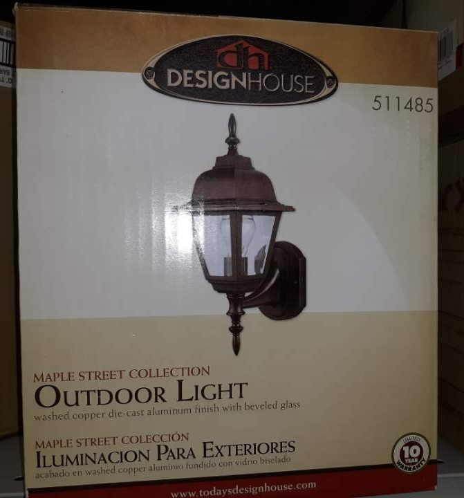 Design House 511485 Maple Street Exterior Light