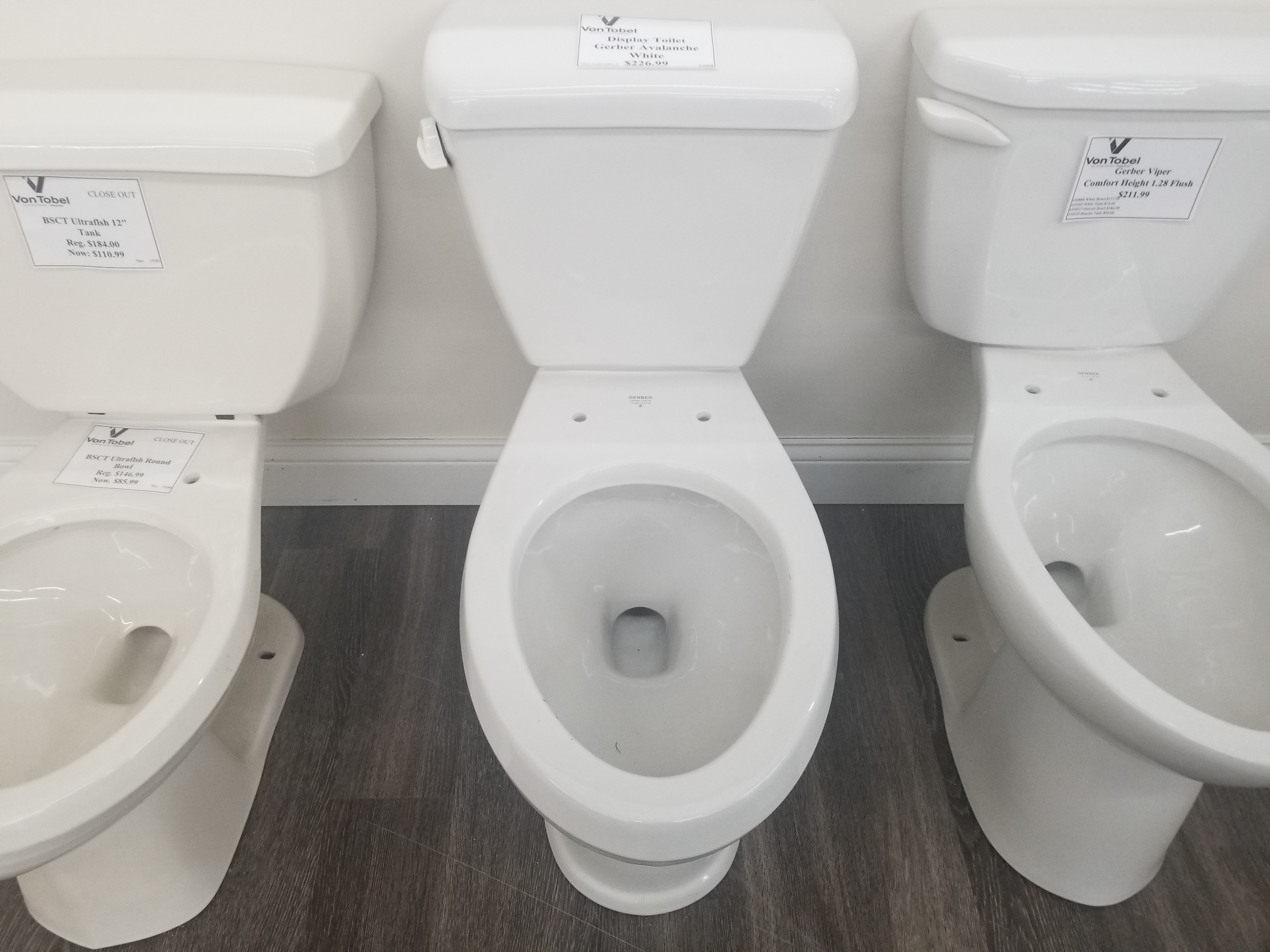 Display Gerber Toilet