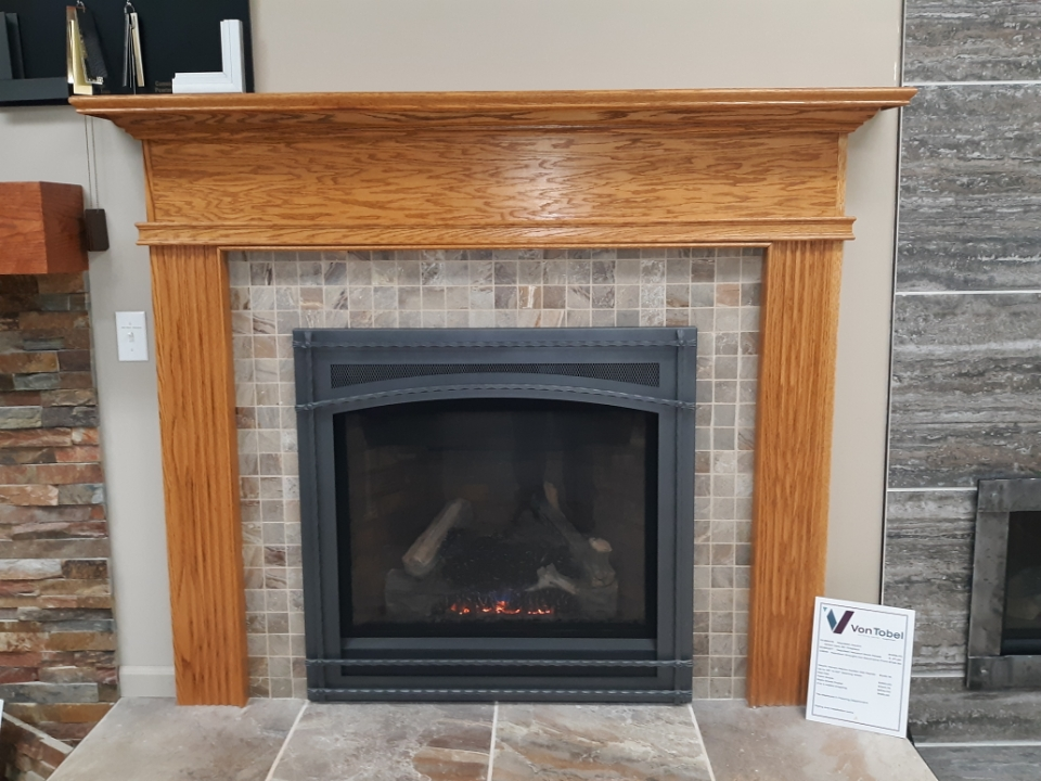 Mount Vernon Mantel- Golden Oak Marion Mantel Surround