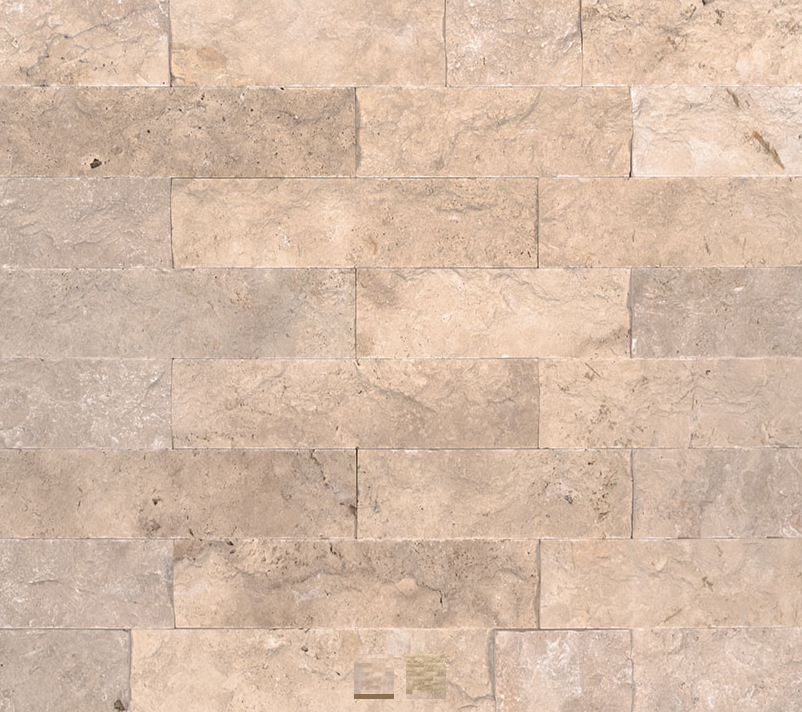 MSI Stone Beige Travertine 6x24 panels- 26sf total