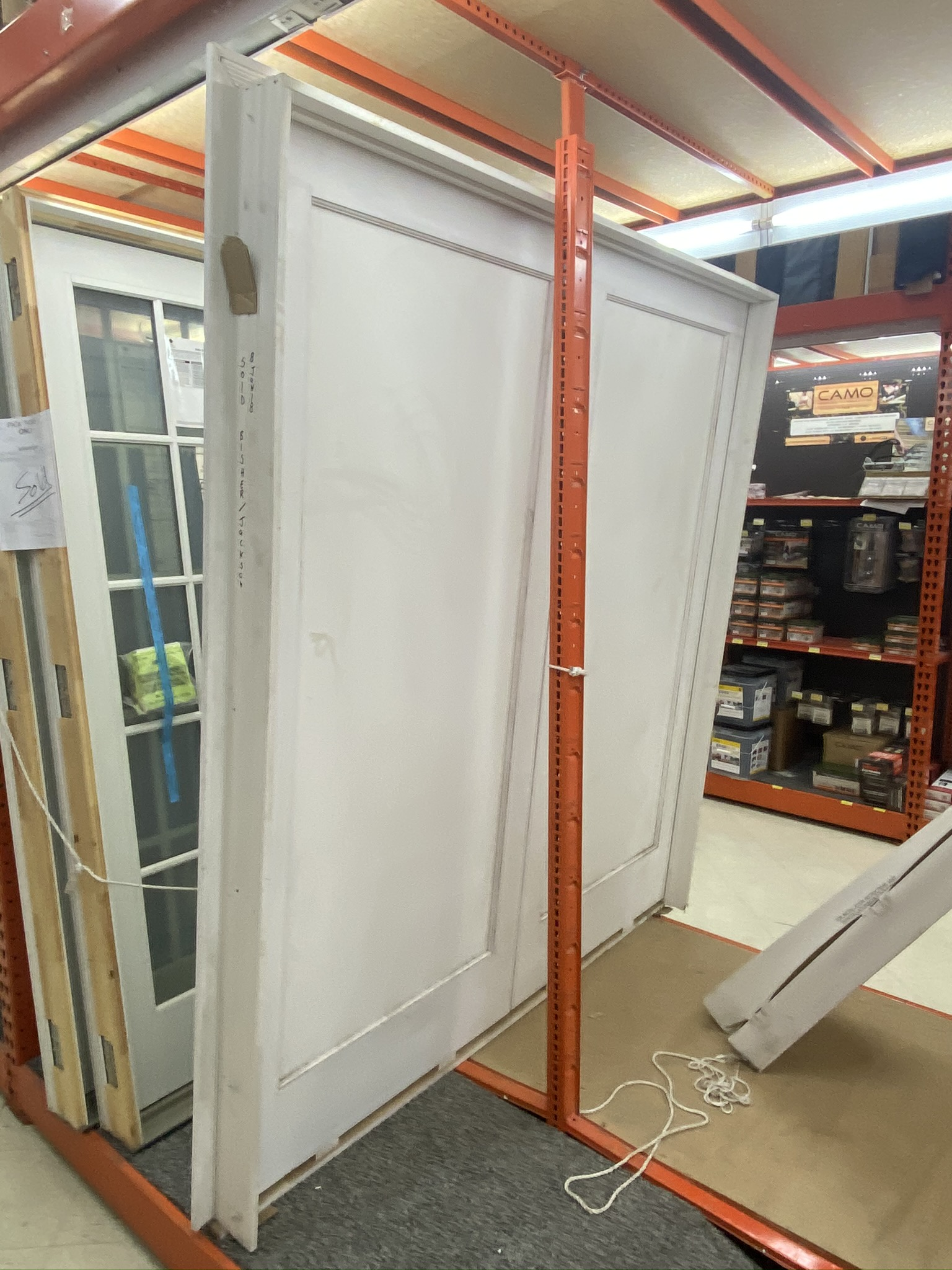 INTERIOR DOUBLE FRENCH DOOR
