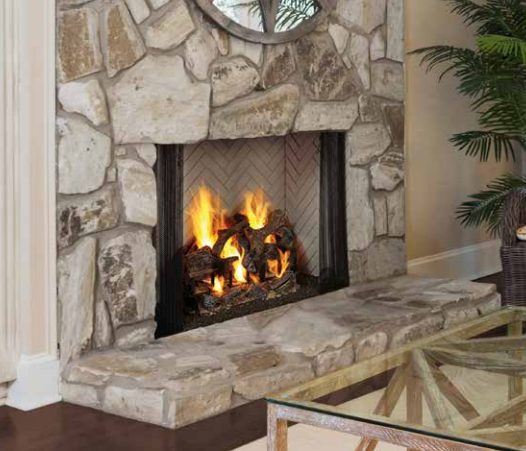 "Majestic ASH42- Ashland 42"" wood burning fireplace"